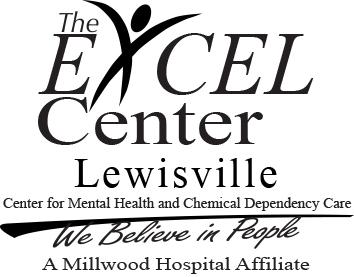 Lewisville logo black